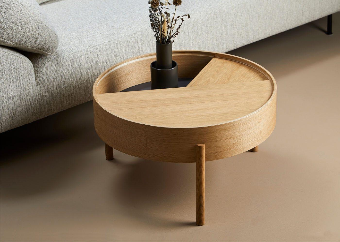 Arc Coffee Table Oiled Oak