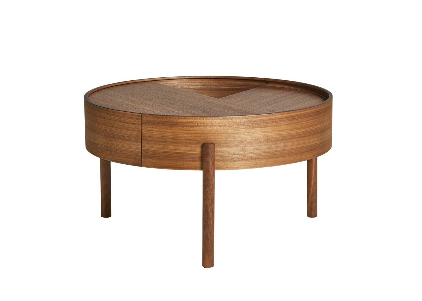 Arc Coffee Table Walnut.