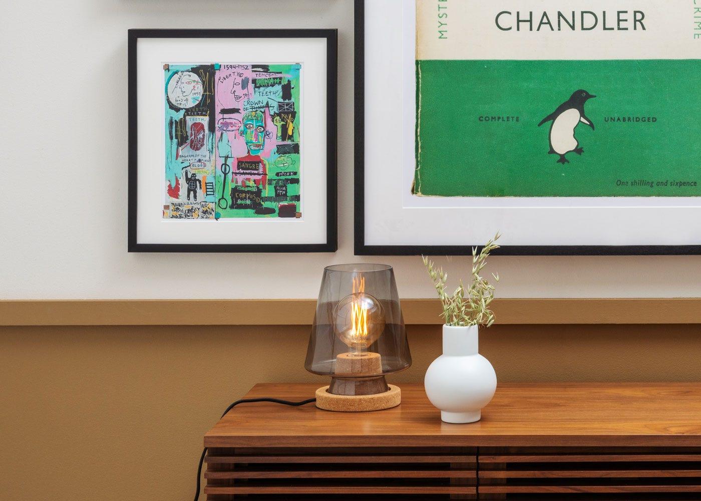 As shown: Arden table lamp, Verona walnut sideboard.