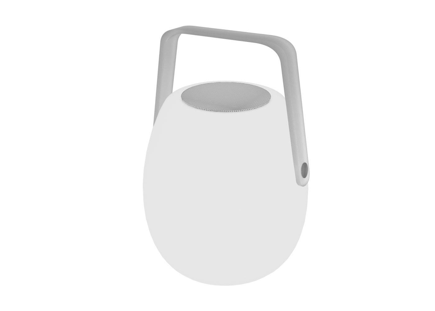 As shown: Ava Portable speaker lantern - Off