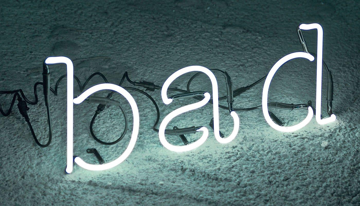 Seletti Neon Font Wall Light