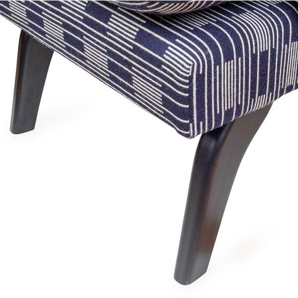 Hand polished wood enhances the texture