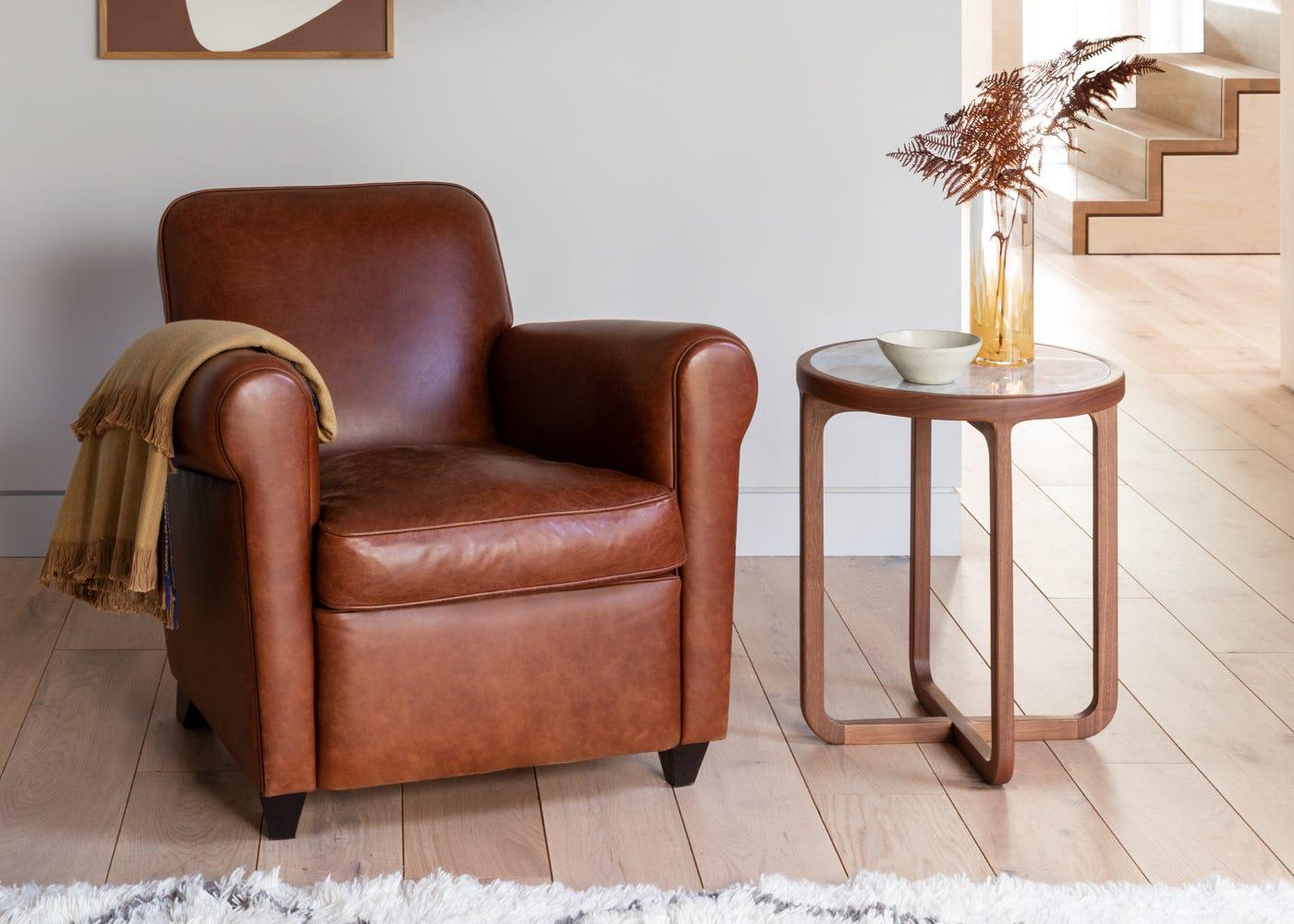 Barrington II Club Chair - Interior View