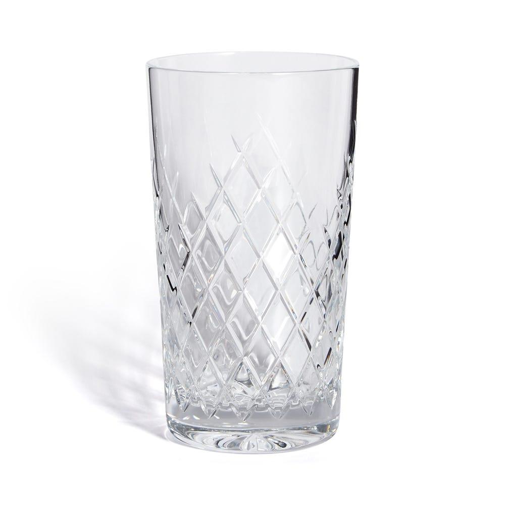 Barwell Cut Crystal Highball Glass Set of 2
