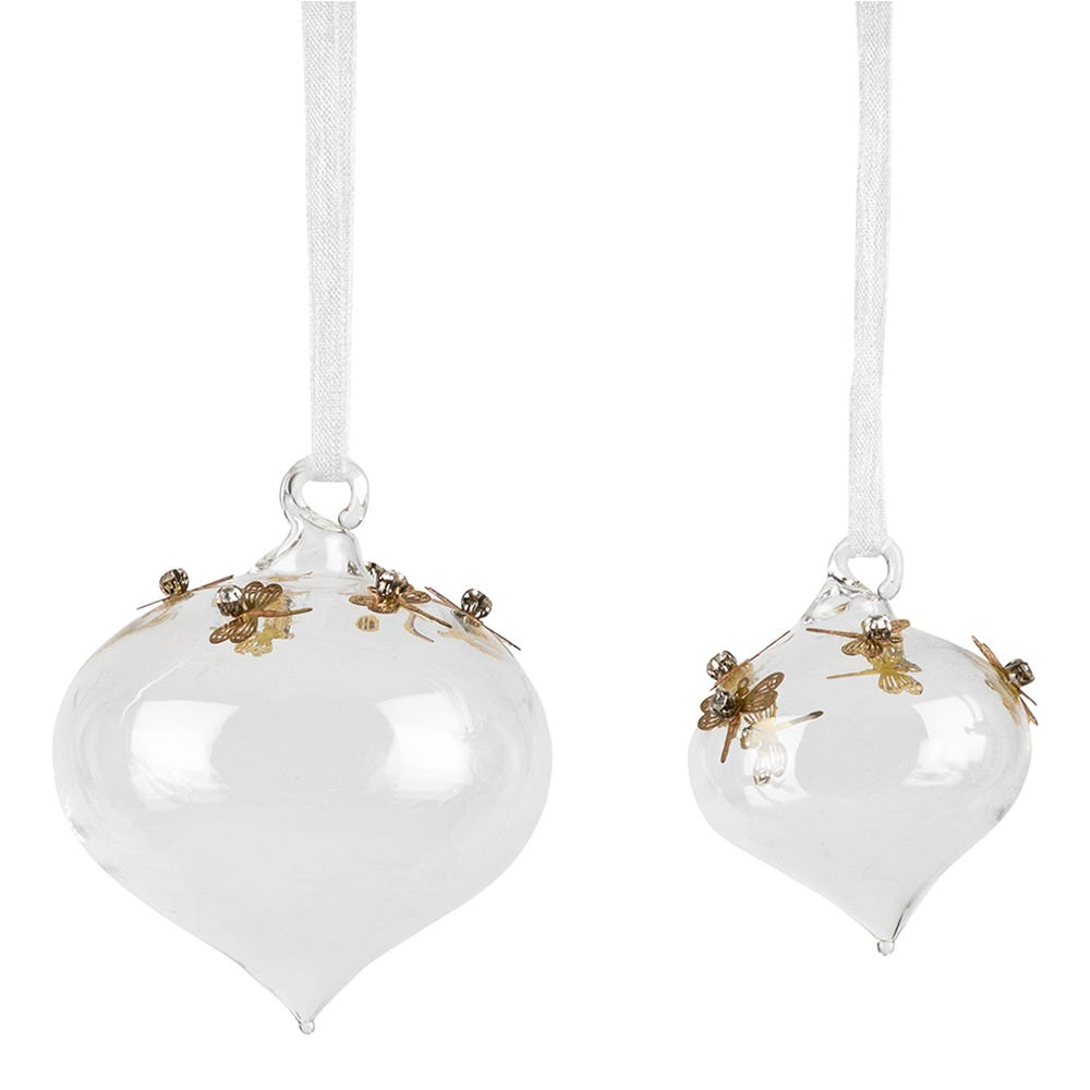 Dragonfly Sequin Bauble Decoration Collection