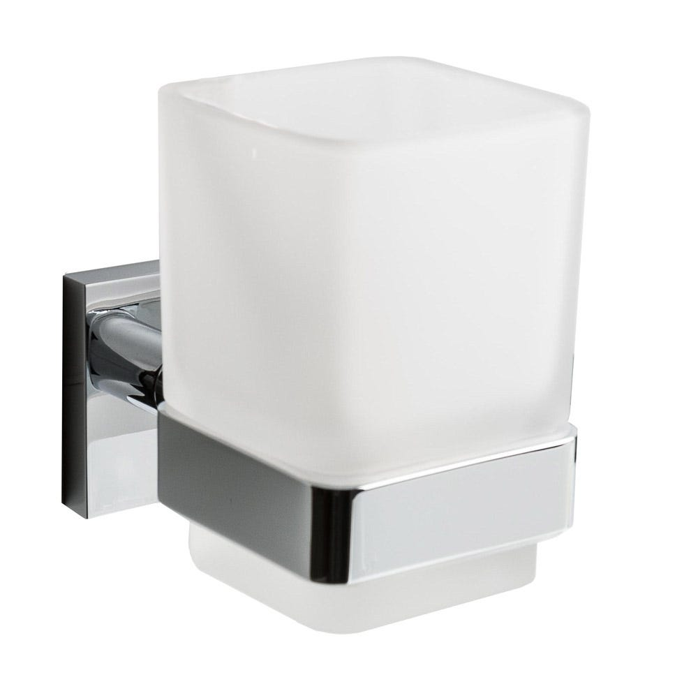 Corsair Wall Mounted Tumbler and Holder Chrome Plated