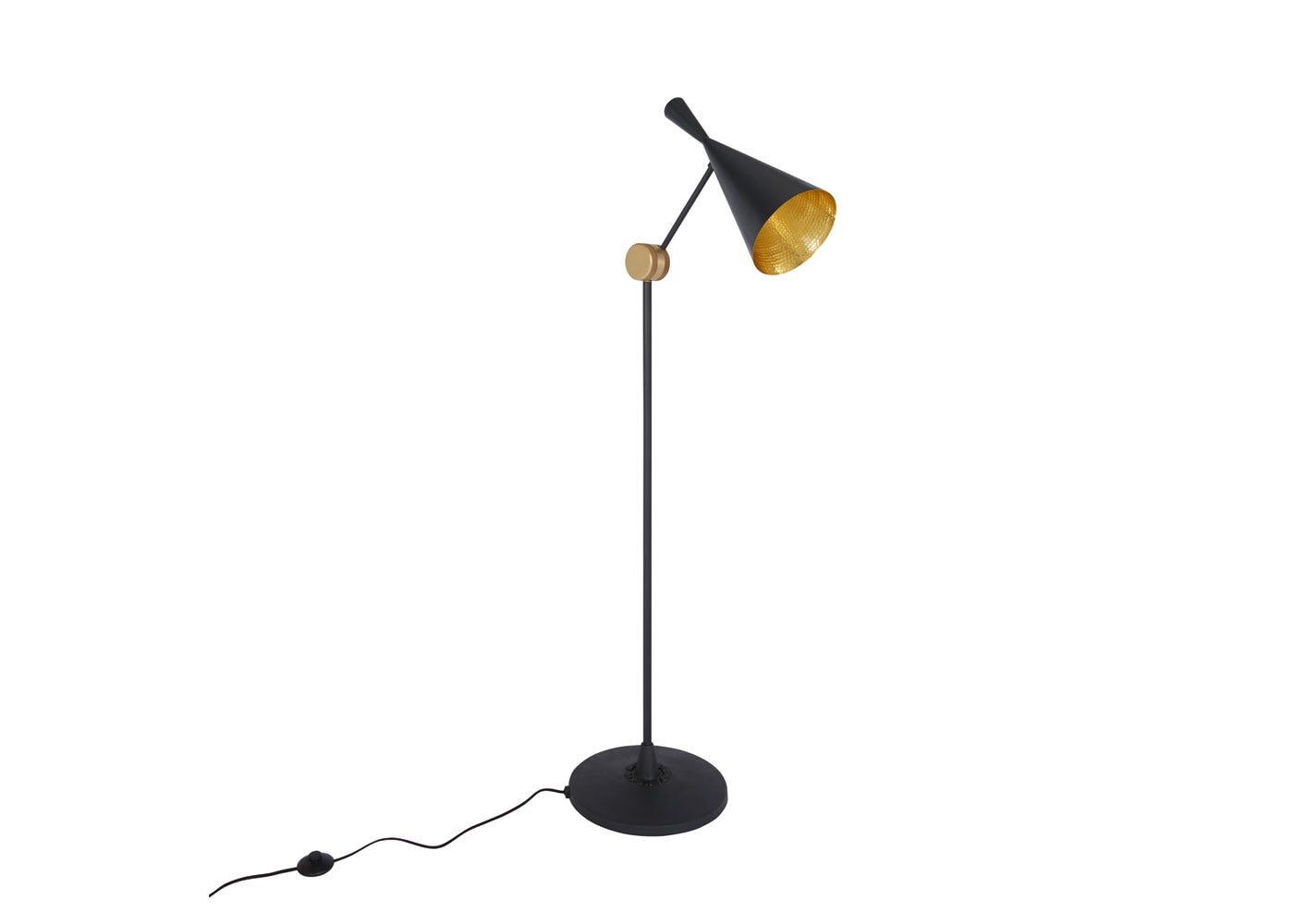 Beat floor lamp black - Off