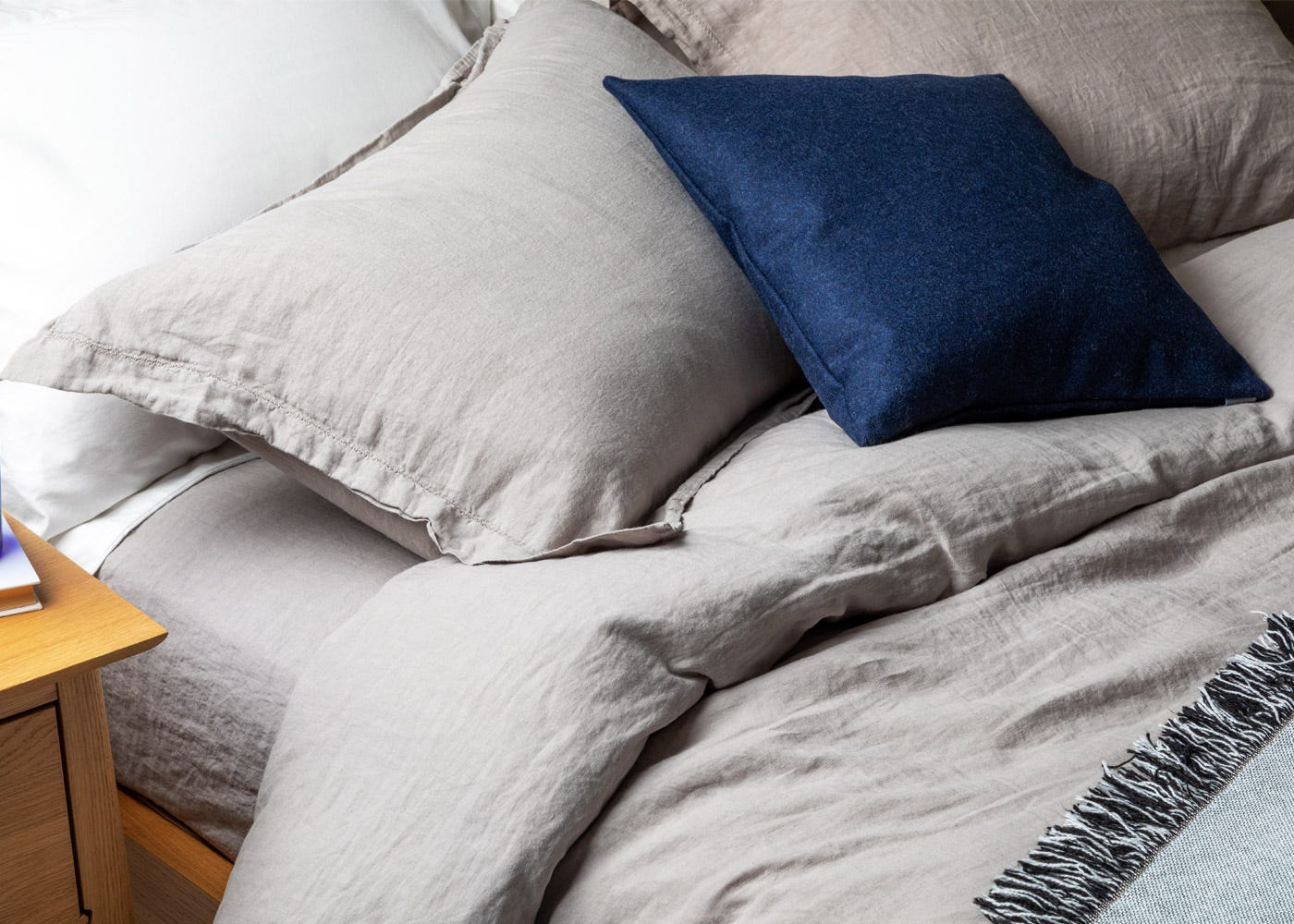 Heal S Washed Linen Bed Linen Natural Heal S