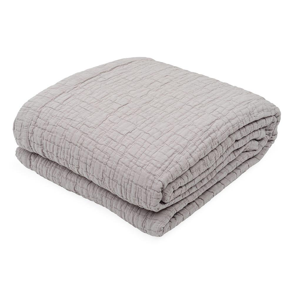 Cobble Bedspread Grey