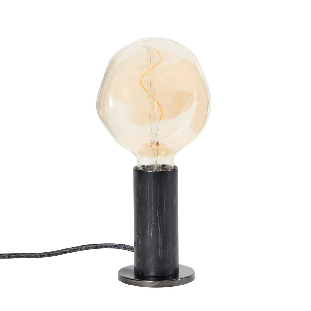 Knuckle Table Lamp with Voronoi I Bulb