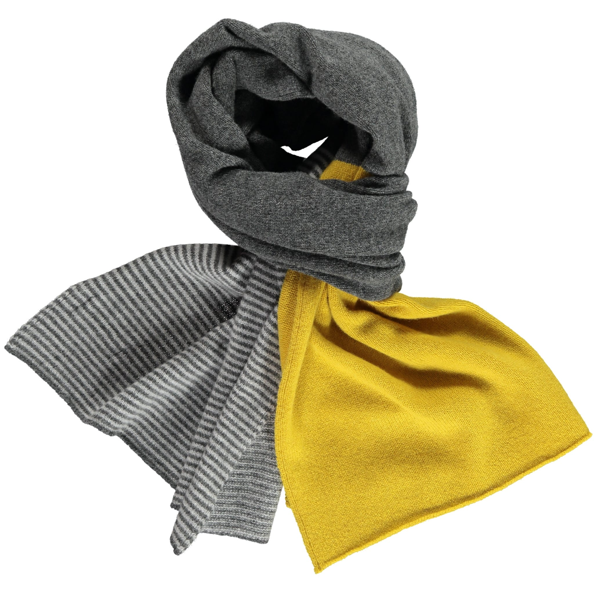Block Design - Grey/Yellow