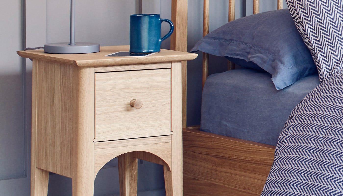 bed side furniture. Blythe Compact Bedside Table Bed Side Furniture