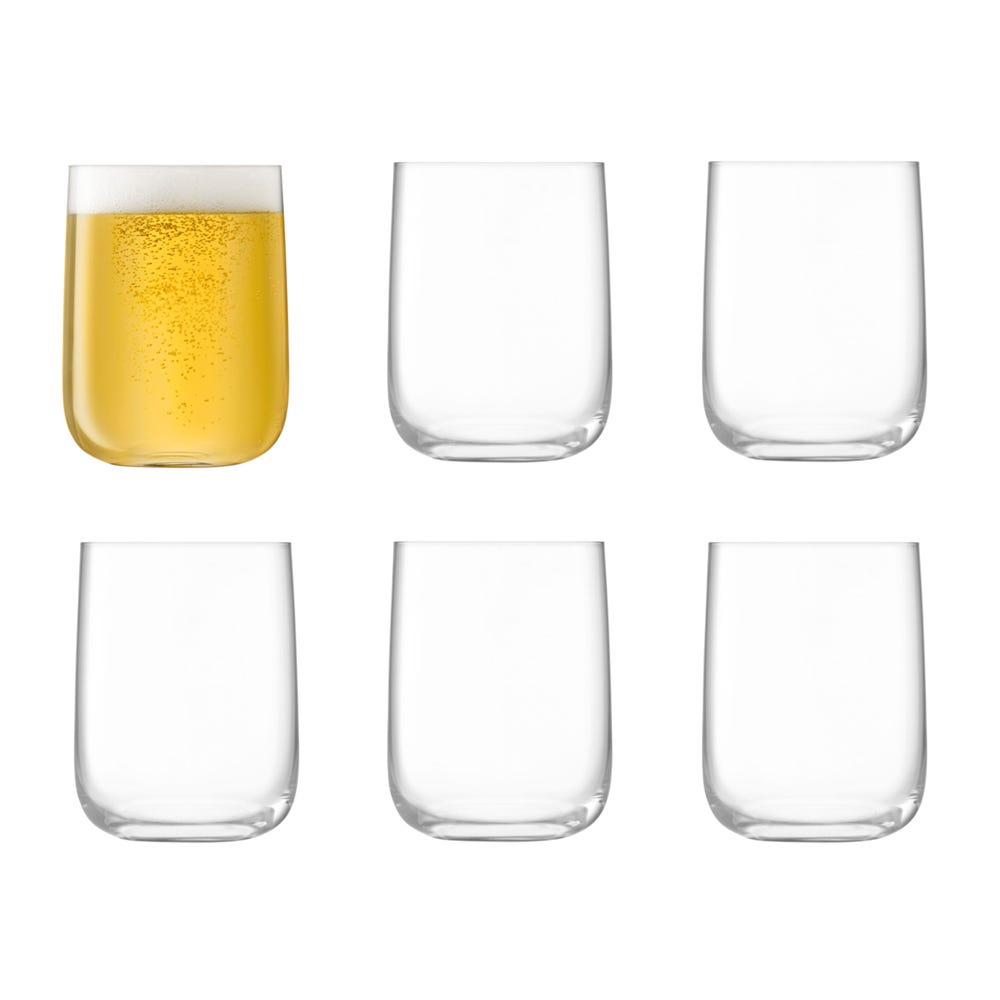 Borough Bar Glass 625ml Clear 6 for 4