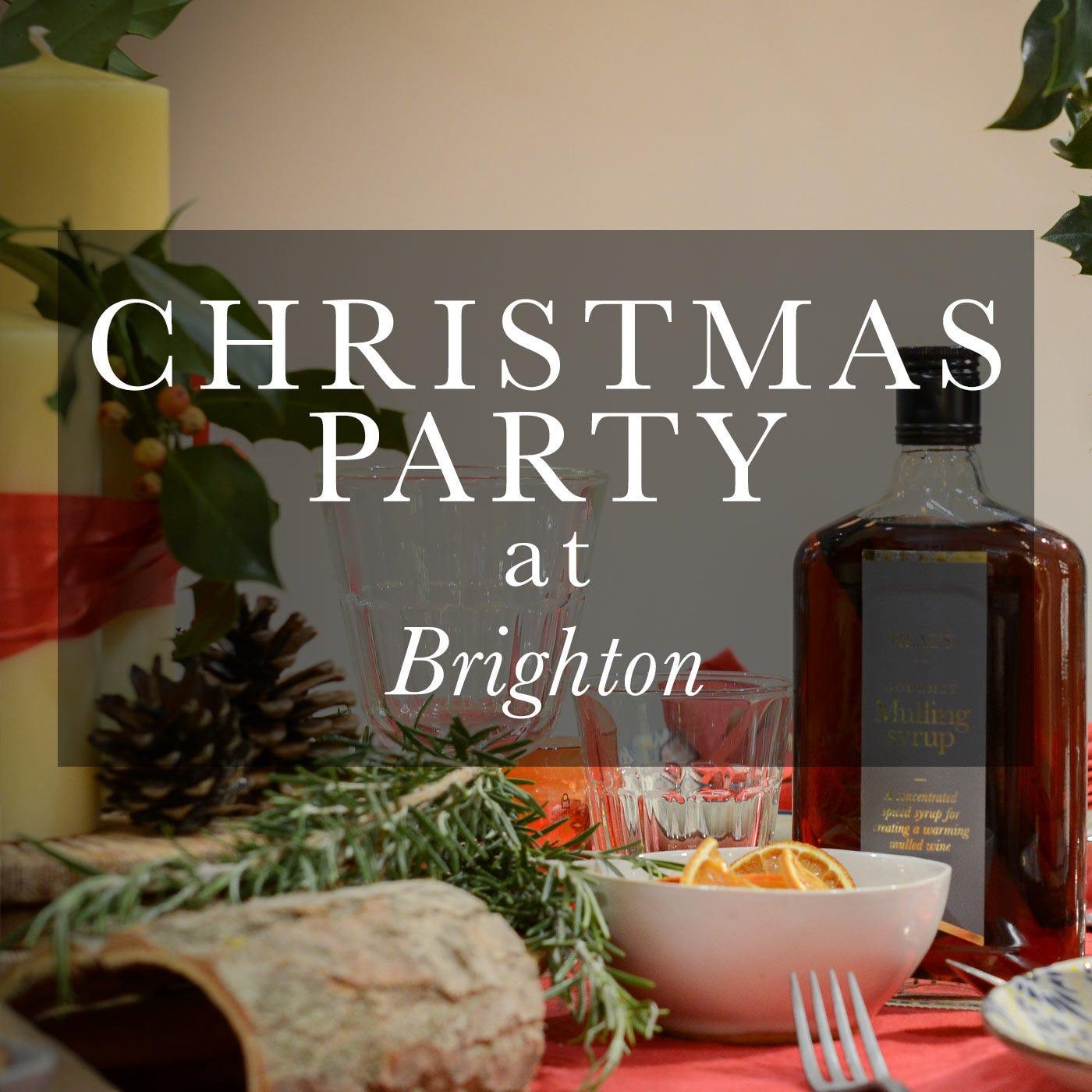 Christmas Party Brighton: Christmas Party At Brighton