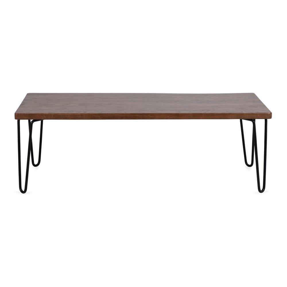 Brunel Coffee Table Unit Dark Wood