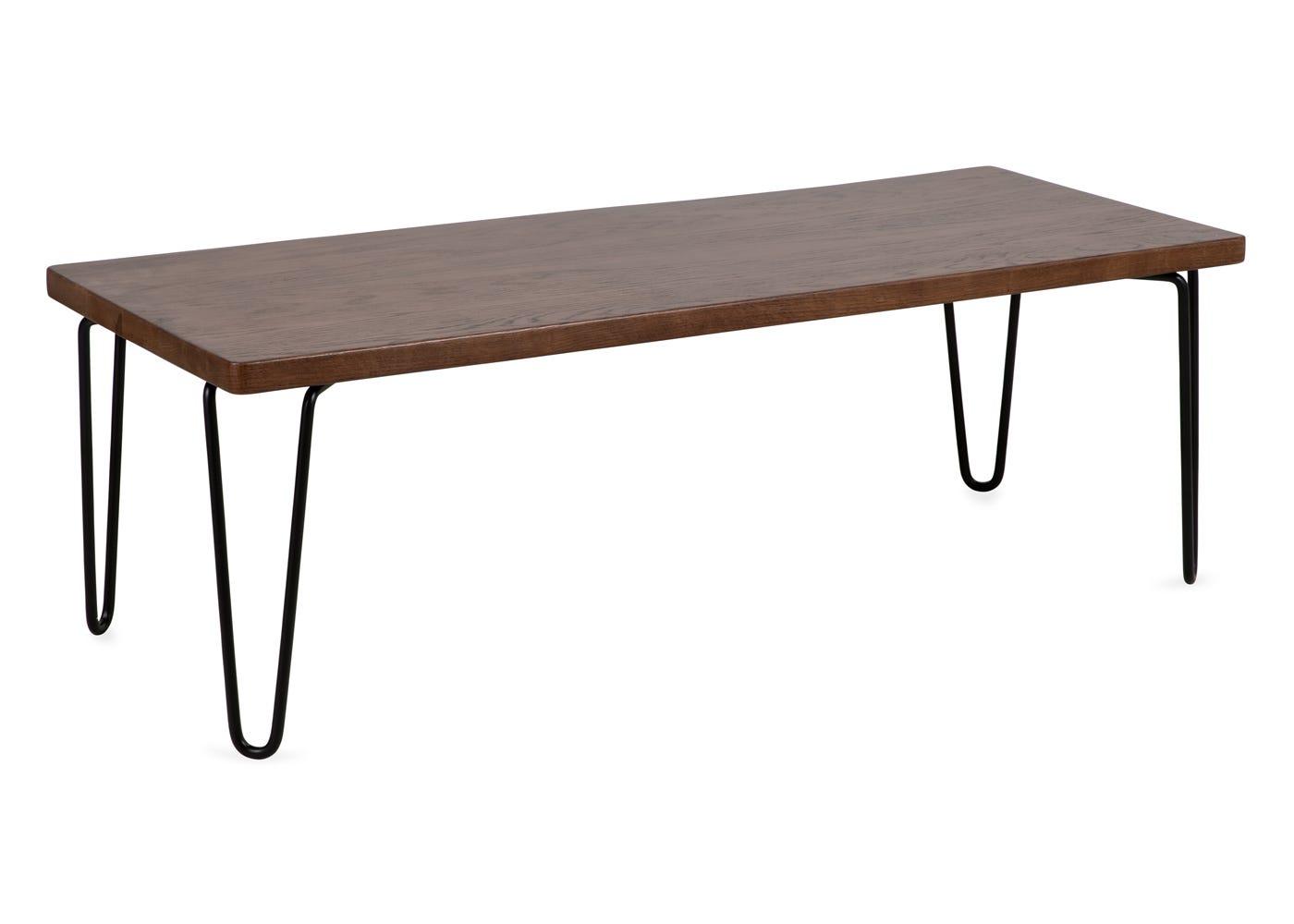 Brunel Coffee Table / AV Unit Dark Wood.