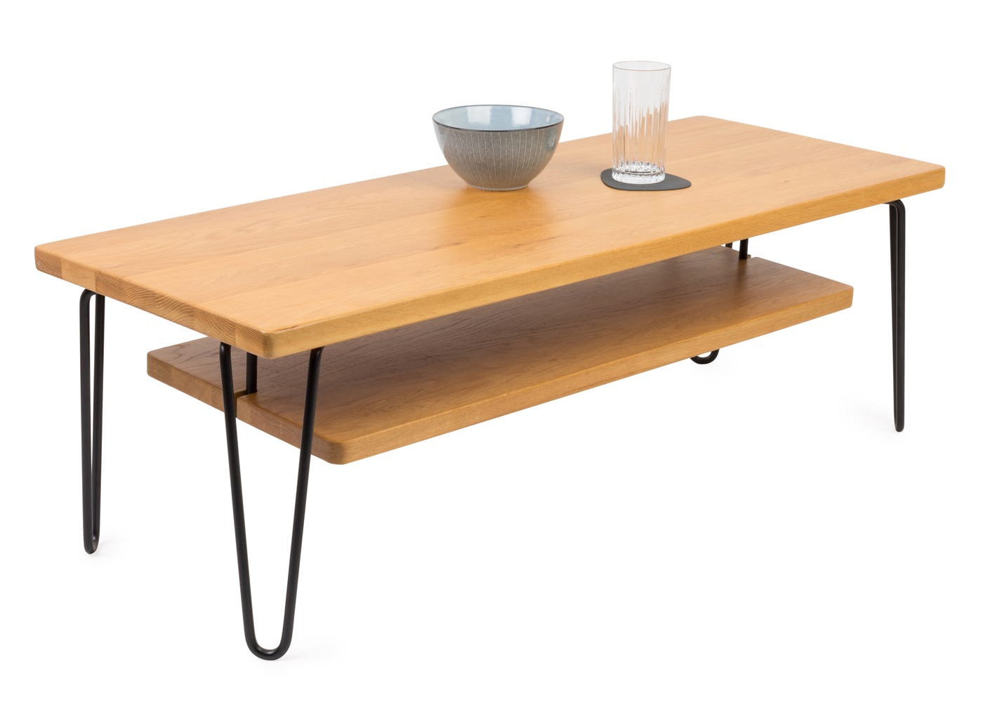 Brunel Coffee Table - Optional Shelf Sold Separately