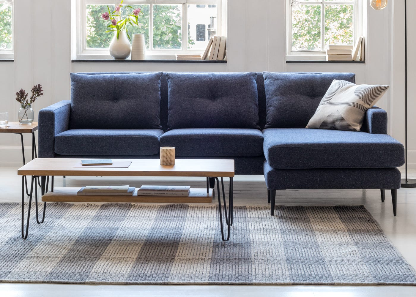 Brunel Shelf For Coffee Table - Lounge View