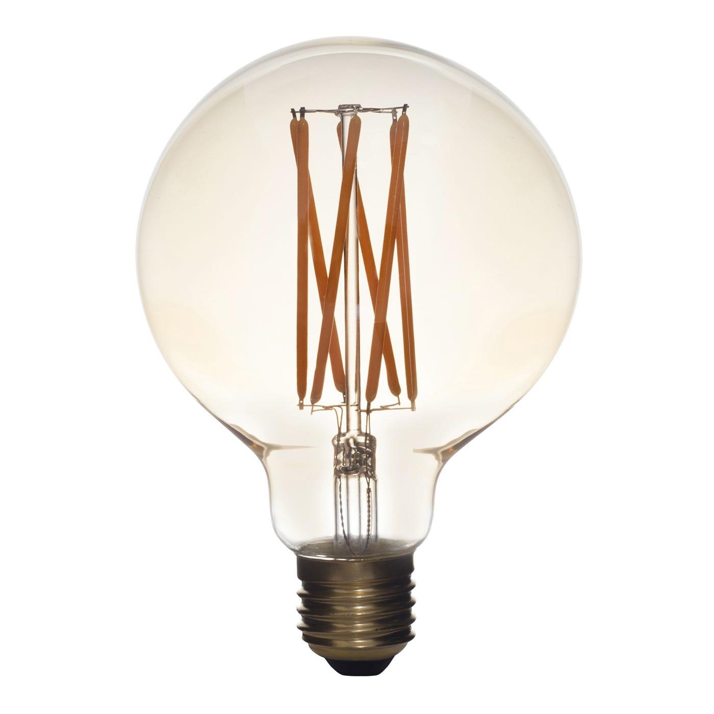 Elva Pack of 8 LED 6W E27 Bulbs (Mega Junction)