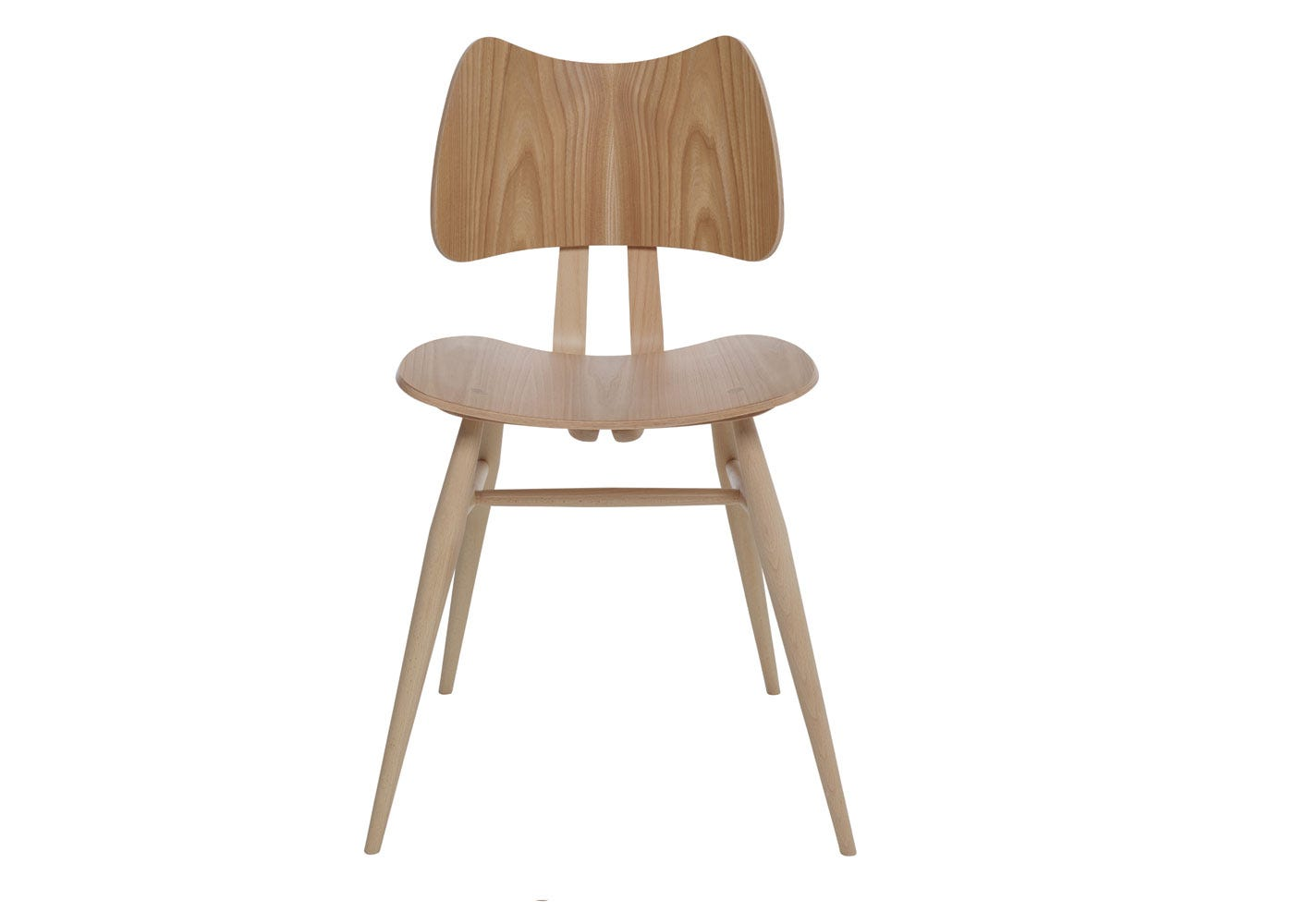As shown: Originals Butterfly Chair Beech and Elm - Front Profile.