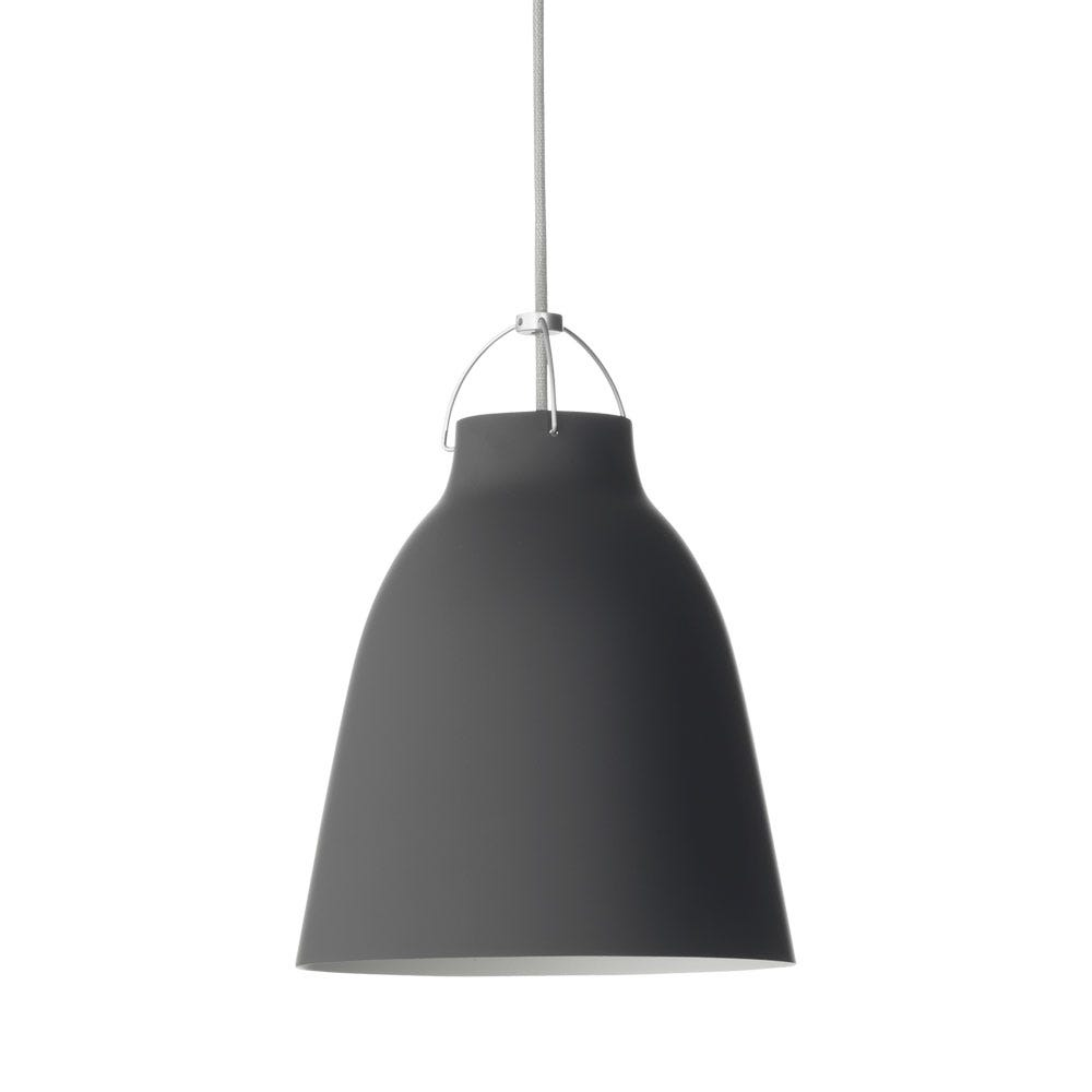 Caravaggio P2 Pendant Light in Matte Black