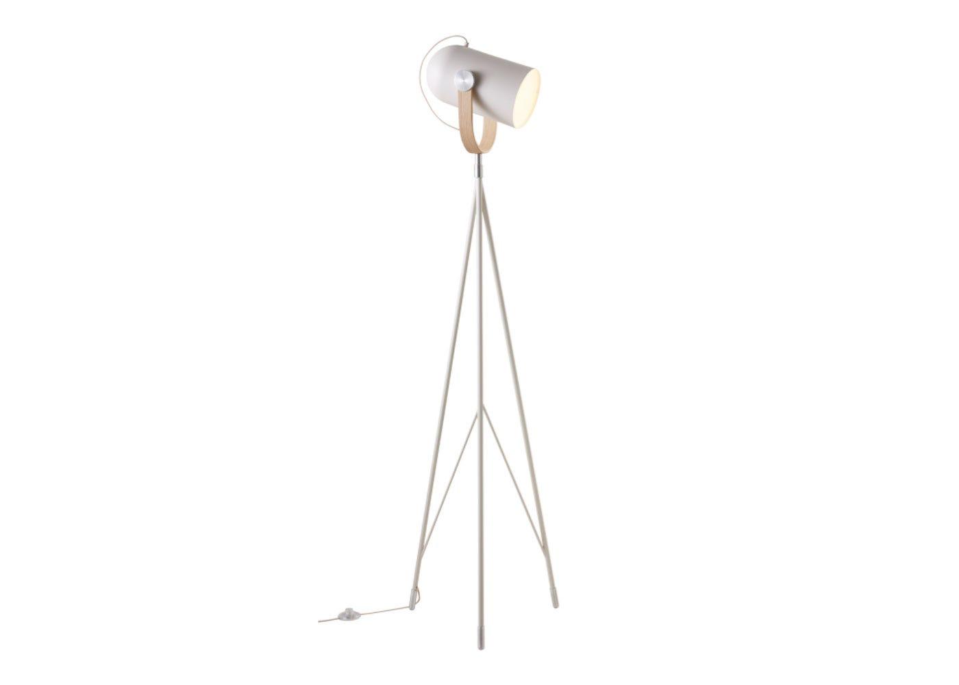 As shown: Carronade Floor Lamp Tall - Sand