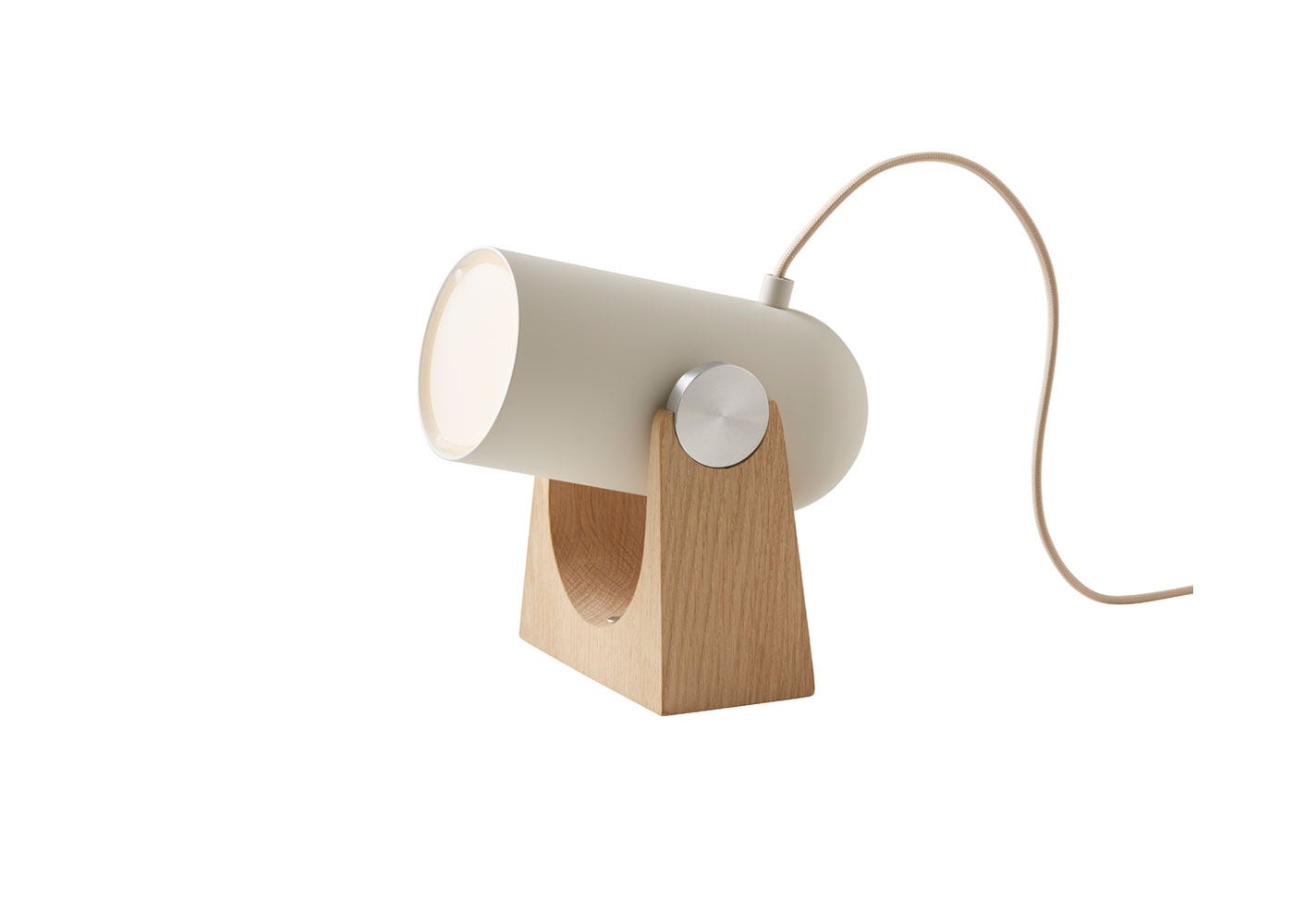 As Shown: Carronade Table Wall Lamp in Sand