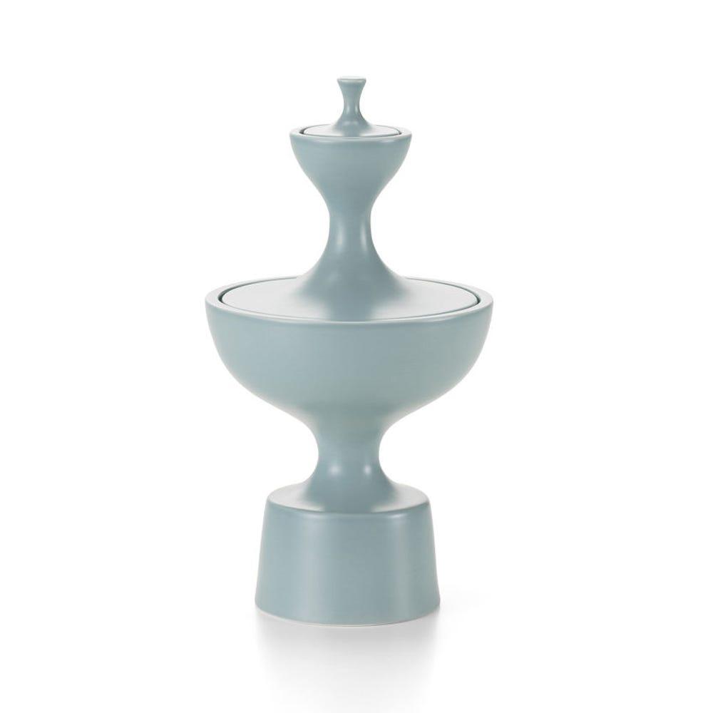 Ceramic Container No.1 Ice Grey