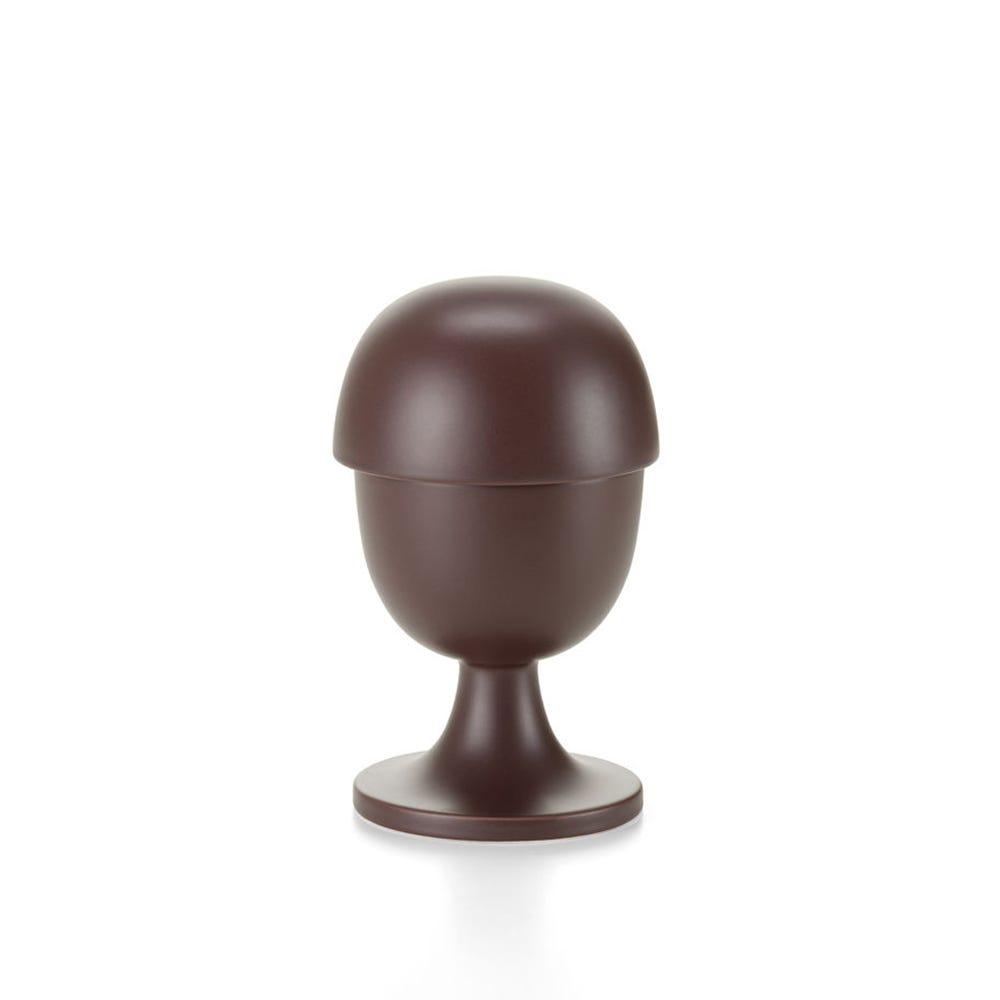 Ceramic Container No.3 Aubergine