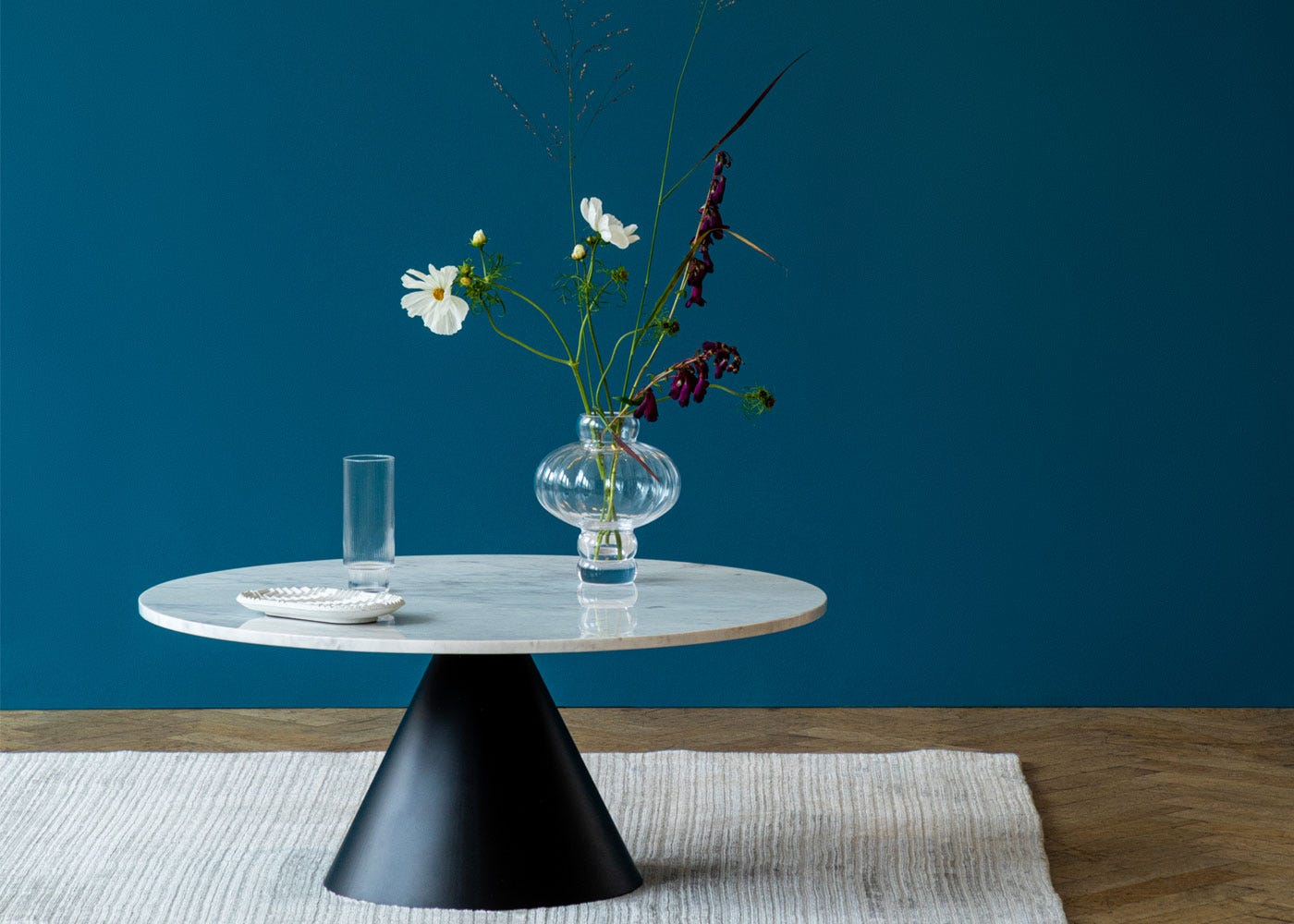 Cezanne Circular Coffee Table Marble