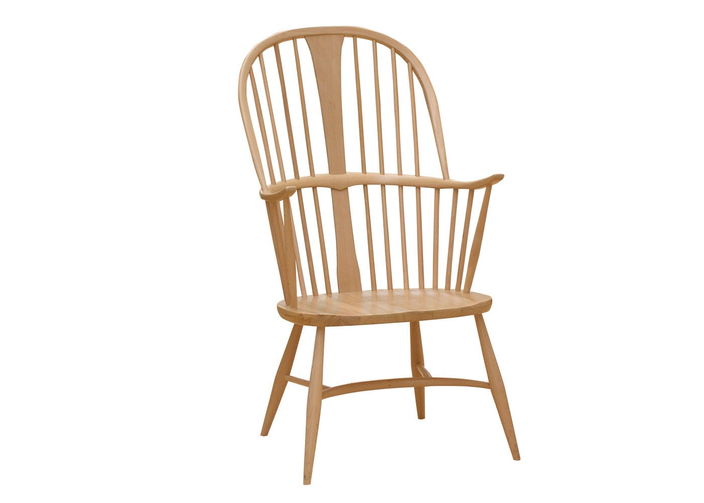 As shown: Originals Chairmakers Chair Beech and Elm - Side Profile