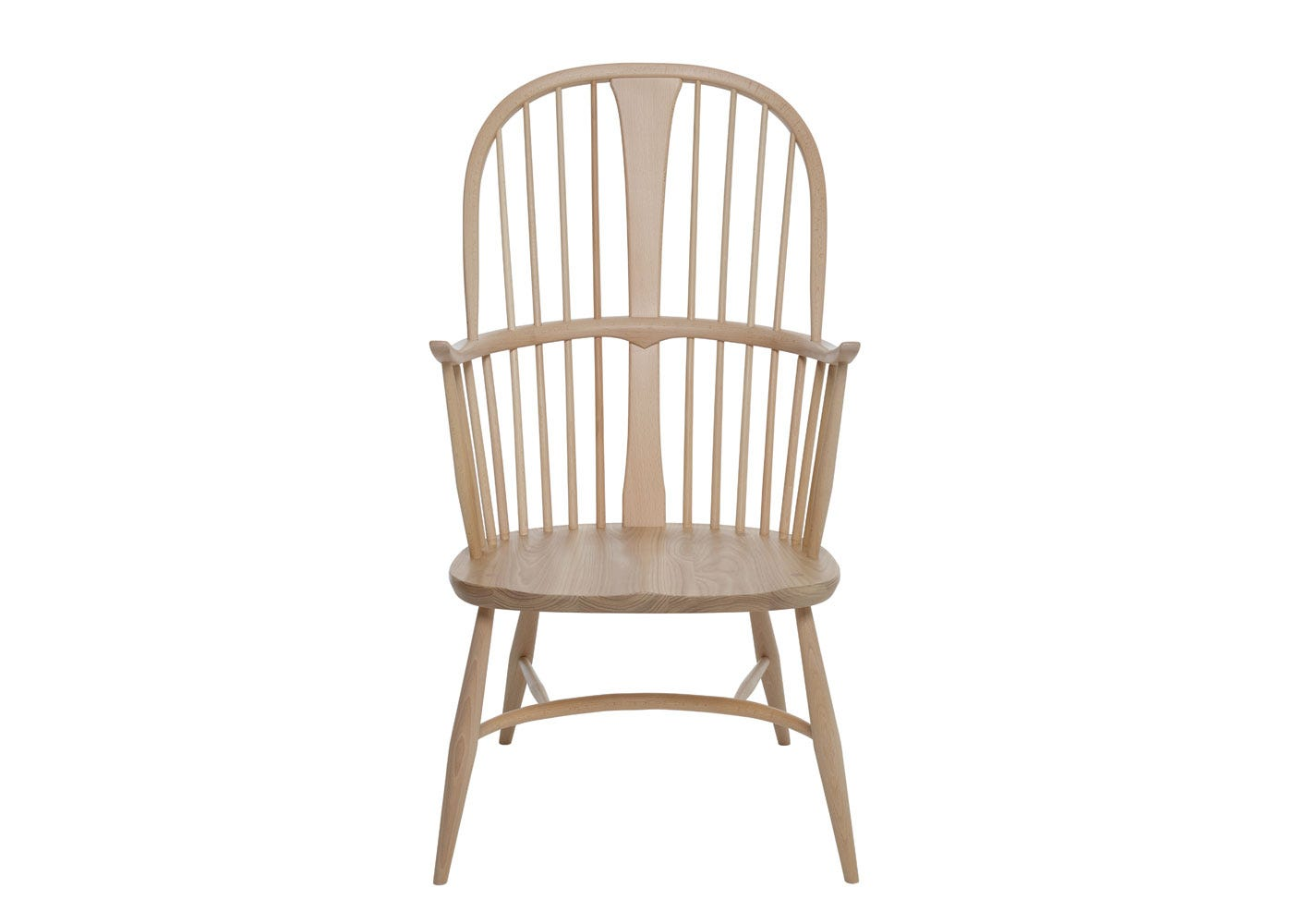 As shown: Originals Chairmakers Chair Beech and Elm - Front Profile