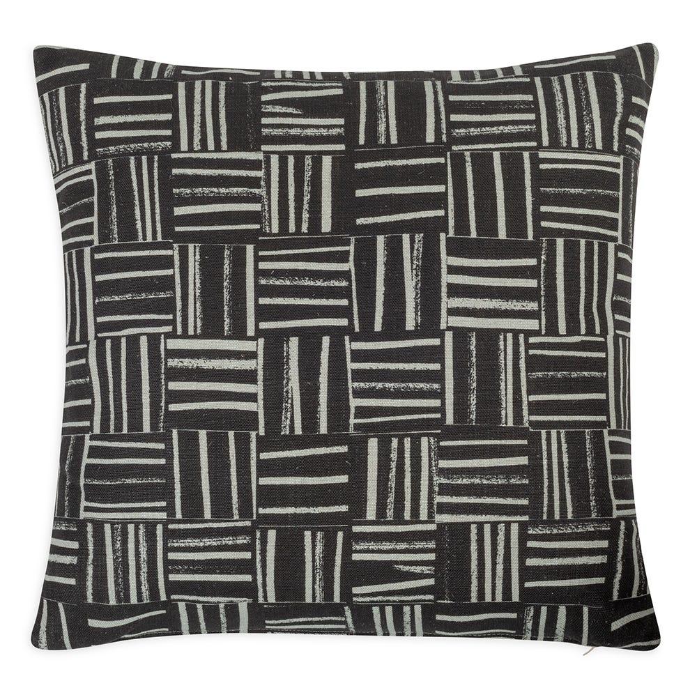 Checked Stripes Cushion