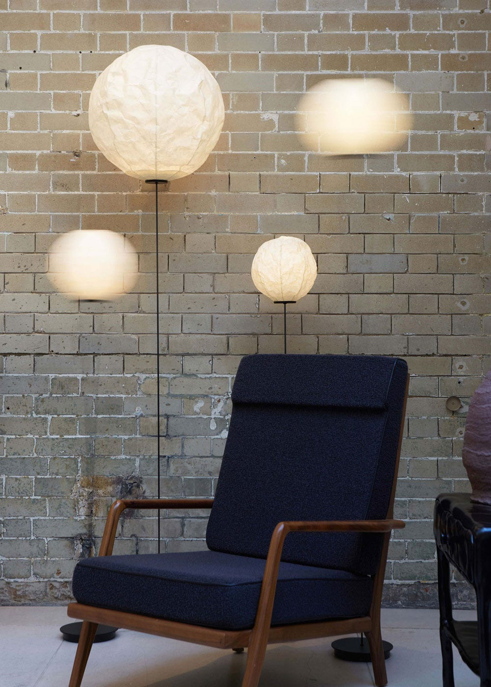 As shown: Cho Light F2 Floor Lamp Collection.