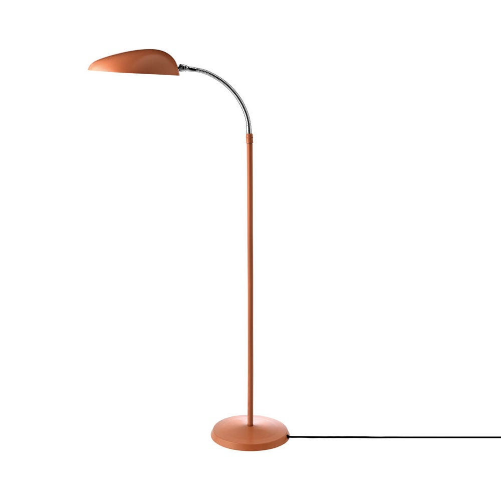 As shown: Cobra Floor Lamp in Vintage Red