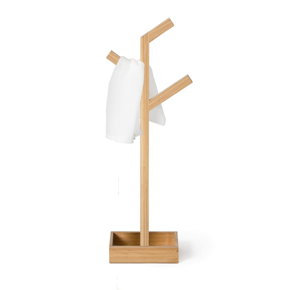 Wood Branch Towel Rail