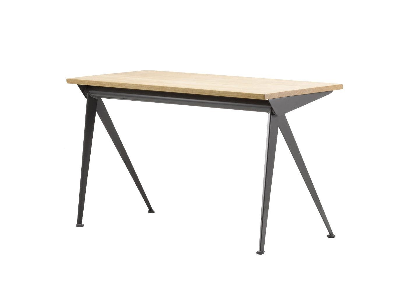 As Shown: Compass Direction Desk in Black