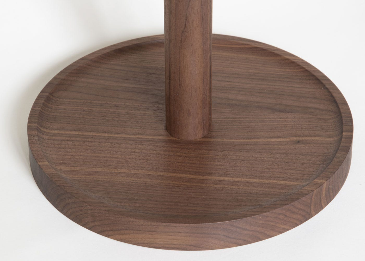 As shown: Cooper side table walnut - Base