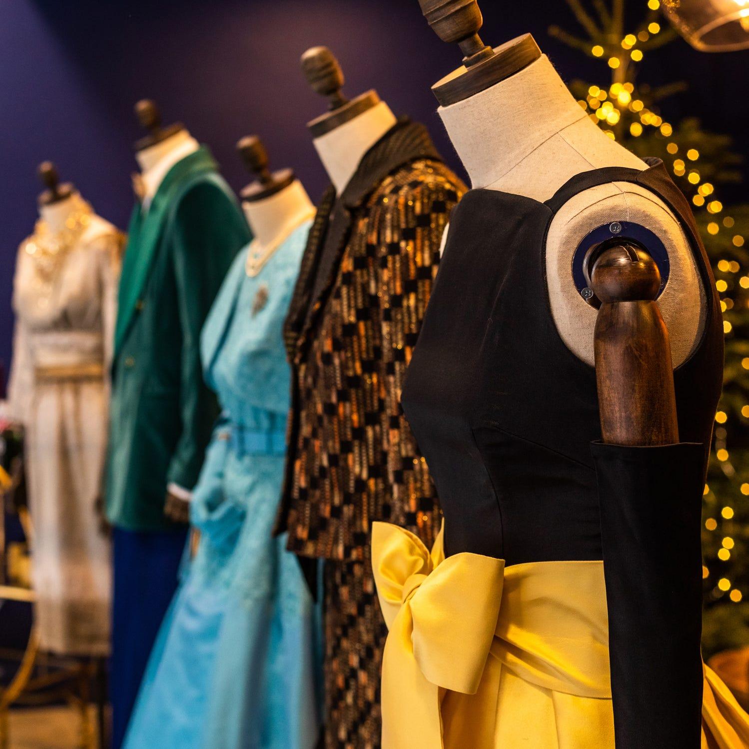 The Crown costume exhibition | Tottenham Court Road