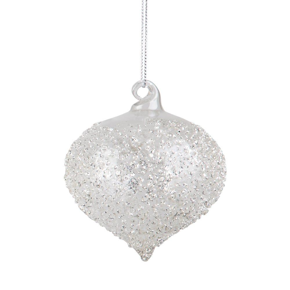 Crushed Crystal Sultan Decoration Medium 8cm