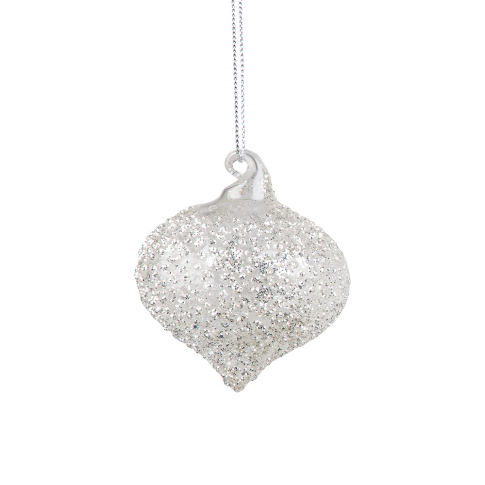Crushed Crystal Sultan Decoration Small 6cm