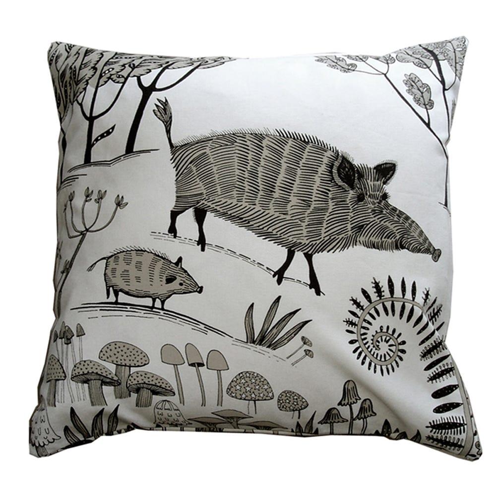 Lush Designs Wild Boar Cushion
