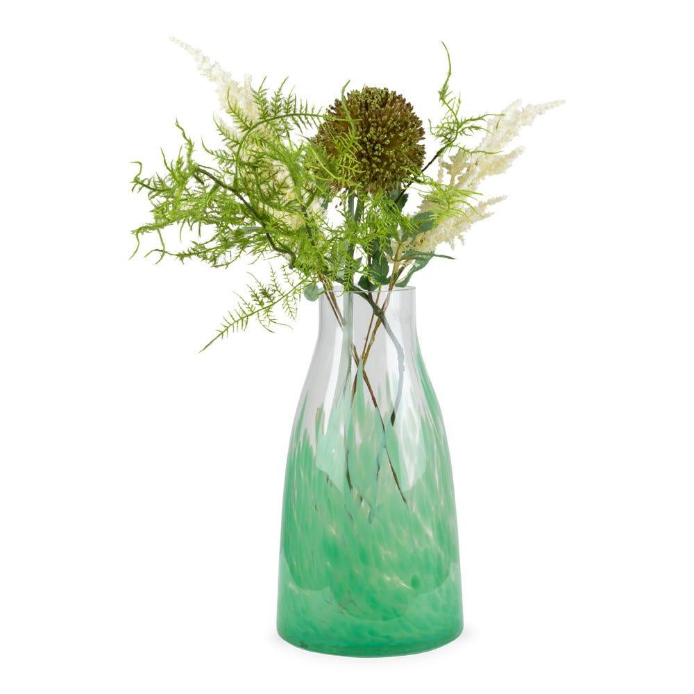 Dapple Vase Green Large