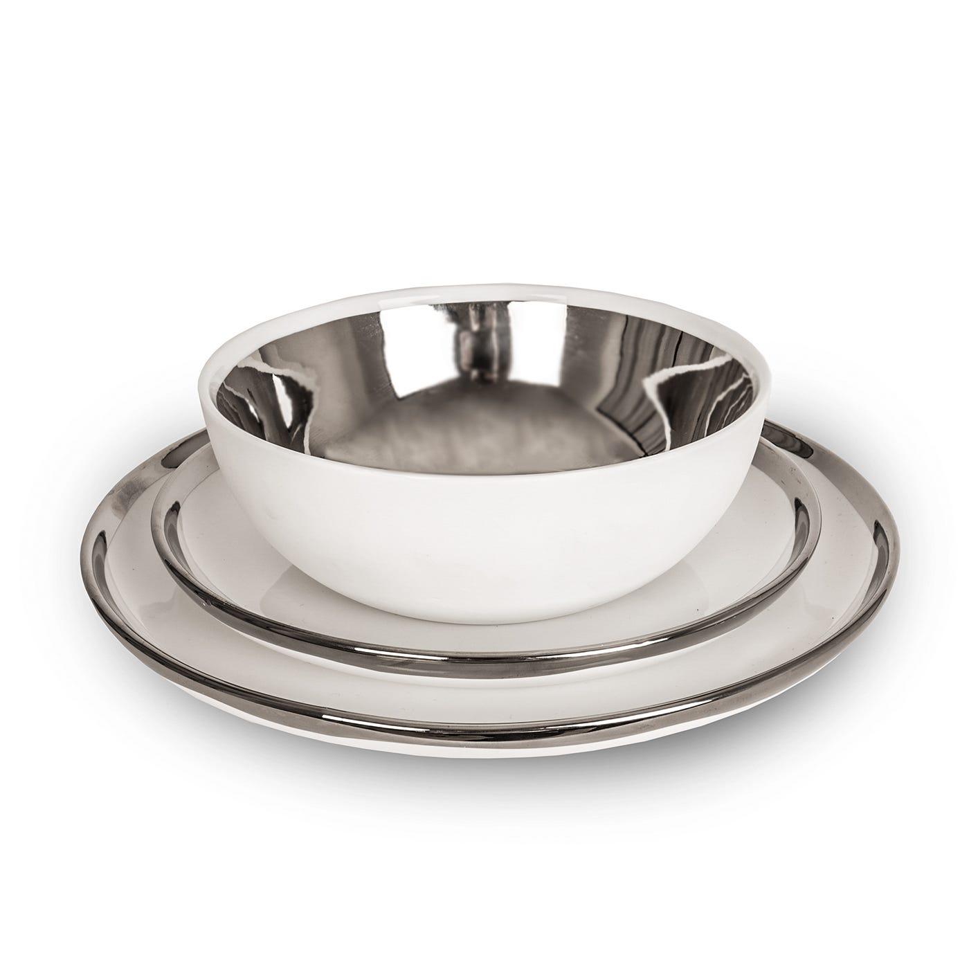 Dauville Dinnerware Platinum