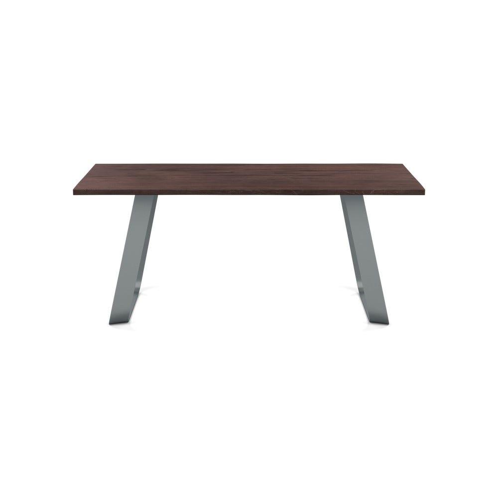 DesignedByYou,SORRENTO,Table, L180cm,D3cm,W90cm,Dark Brown
