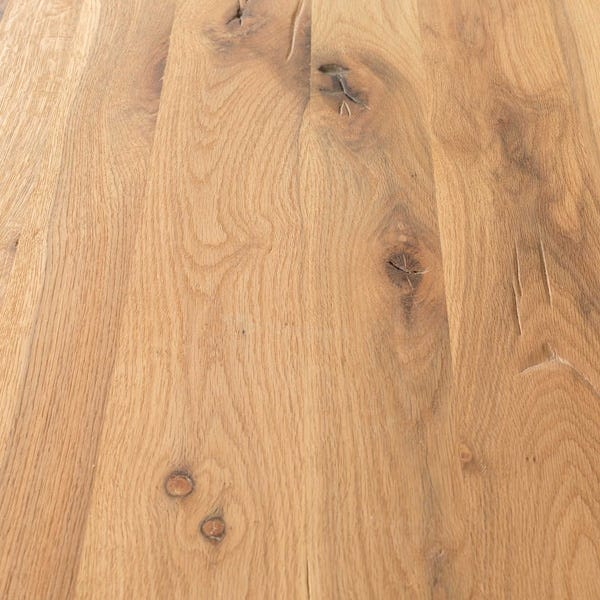 Natural Oak table top, one of the seven finish options