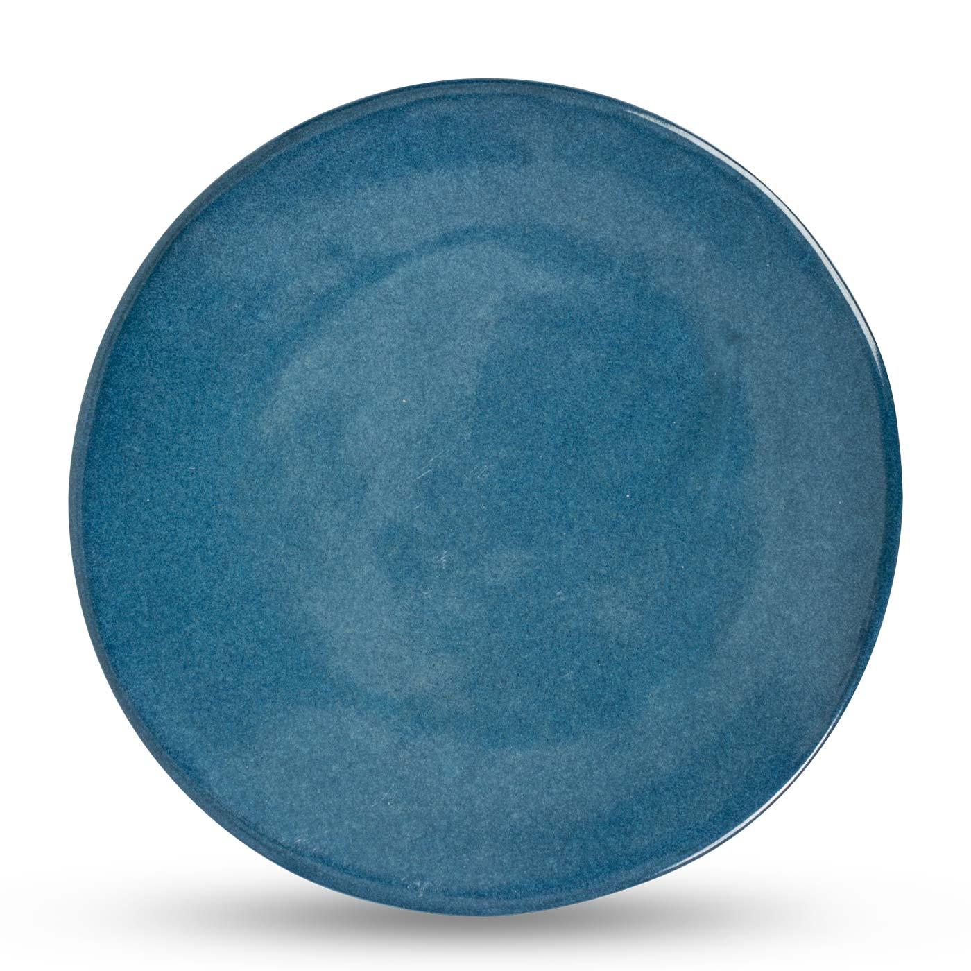 Sapphire Glaze Dinner Plate