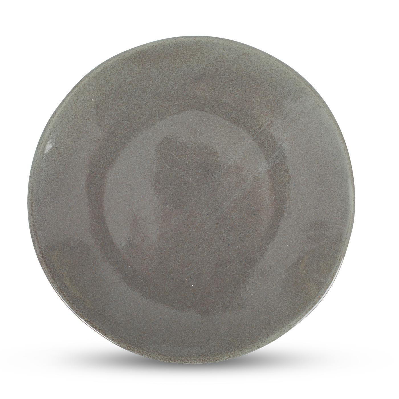 Grey Glaze Dinner Plate - Discontinued