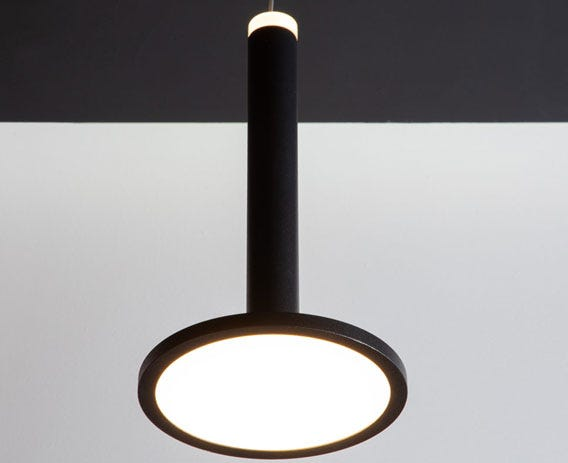 Each light has dual source illumination creating a unique look.