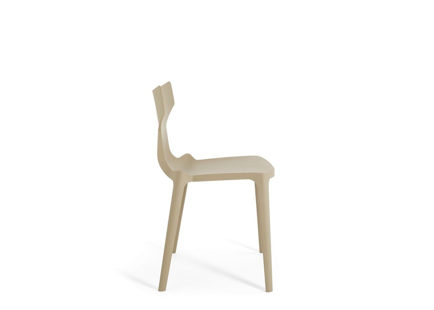 RE Chair Dove - Side Profile